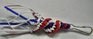 red-white-blue zipper pull